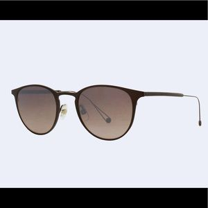 "Garrett Leight ""Oxford"" Titanium Sunglasses"